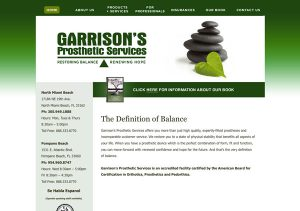 Garrison Prosthetic Services